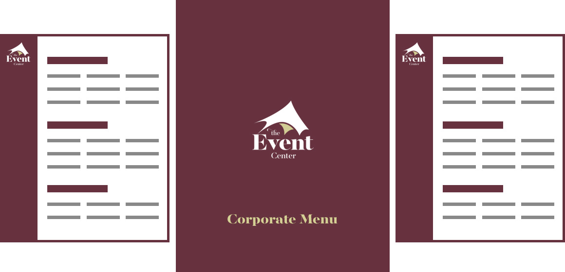 View the Corporate Menu